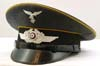 Luftwaffe NCO/enlisted Fallschirmjager/ flight piped visor hat