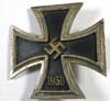 Iron Cross 1st class with brass core, vaulted