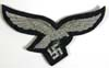 Luftwaffe officer bullion breast eagle