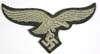 Luftwaffe enlisted overseas/M43 cap eagle