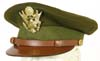 World War II United States Army officer's visor hat