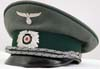 Customs officer's visor hat by L. Reuther, Munchen