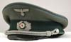 Army Transport officer's visor hat