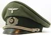 Army Pionier (combat engineer) officer's visor hat by Erel