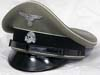Waffen SS NCO/enlisted visor hat