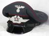 Luftwaffe fire brigade enlisted visor hat