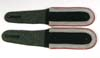 Army artillery unteroffizier matched set of shoulder straps