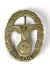Gau Baden Honor Badge in Gold