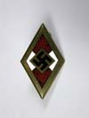 Golden Hitler Youth Honor Badge
