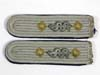Army Stabsarzt ( Medical ) Hauptmann sew-in shoulder board set with cyphers