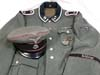 Rare Waffen SS Wiking Oberscharfuhrer M40 service tunic and breeches