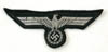 Army Officer/ NCO flatwire aluminum machine woven breast eagle