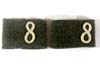 Infantry Em/nco's shoulder strap slides