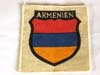 Army ARMENIEN foreign volunteers printed arm shield