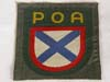 Army POA foreign volunteers machine woven arm shield