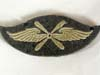 Luftwaffe flight personnel badge worn on sleeve
