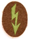 Army tropical nachtrichten specialty sleeve insignia for Jager