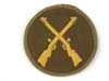 Army tropical weapons maintenance specialty sleeve insignia for Jager