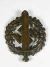 SA Sports badge in Bronze second pattern