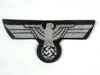 Kriegsmarine  administration officers breast eagle in bullion