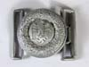 Army officer dress buckle for brocade belt