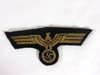 Kriegsmarine officer/nco gold wire hand-embroidered tunic eagle