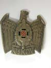 NSKOV ( Veterans Association ) visor hat eagle