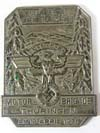 NSKK Motor Brigade Thuringen award dated AM 19.APRIL 1936