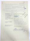 Luftwaffe Efficiency Report for Winfred Schmidt Signed by Colonel Guther Lutzow and Erwin Neuerburg