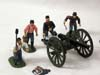 Frontline Figures, American  Civil War,Union Artillery, second firing cannon