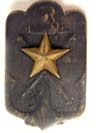 Official's retired soldier badge pin