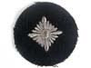 Waffen SS rank pip on black for the rank of Oberschutze