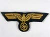 Kriegsmarine officer/nco tunic eagle in cello
