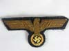 Kriegsmarine officer tunic eagle in bullion