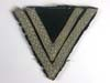 Waffen SS rank chevron for Rottenführer upgraded from SS Sturmmann