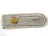 Shoulder board white Infantry rank pip