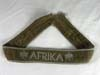 AFRIKA commemorative cufftitle