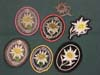 Rare set of Gebirgsjager insignia