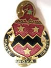 Honor with virtue latin pin