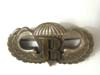 WWII US Army Paratrooper jump wings circle R (reserved) in sterling