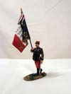 King & Country French Flag Bearer