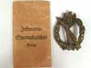 Infantry Assault Badge in Bronze with original paper envelop by JFS