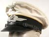 Luftwaffe enlisted white summer visor for flight or Fallschirmjager