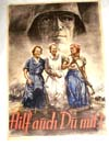 German poster depicting females in the supporting roles