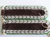 Schutzpolizei set of mint, matched slip-on shoulder boards for the rank of Bezirkleutnant