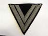 Waffen SS rank chevron for the rank of Rottenfuhrer