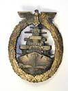 Kriegsmarine High Seas Fleet badge by RS&S