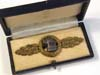 Luftwaffe Reconnissance flight (Frontflugspange fur Aufklarer ) clasp in Bronze cased