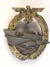 Kriegsmarine 2nd E-Boat badge by Schwerin