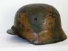 Army M35 camouflage combat helmet by ET